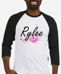 Rylee Artistic Name Design with Fl Baseball Jersey