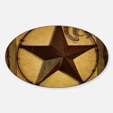 primitive texas lone star Decal
