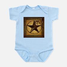 primitive texas lone star cowboy Body Suit