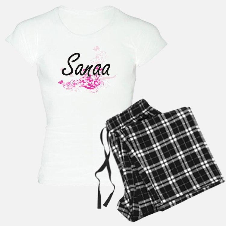 Sanaa Artistic Name Design Pajamas