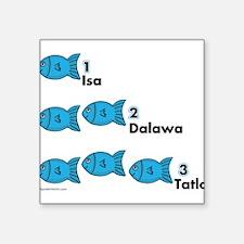 """Unique Tagalog Square Sticker 3"""" x 3"""""""