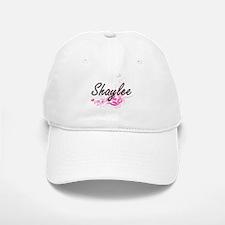 Shaylee Artistic Name Design with Flowers Baseball Baseball Cap