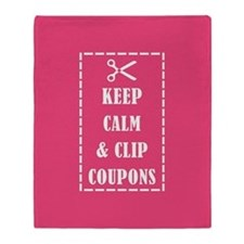 CLIP COUPONS Throw Blanket