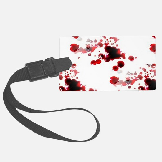 bloody Luggage Tag
