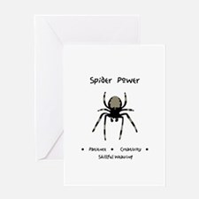 Spider Animal Medicine Gifts Greeting Cards