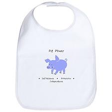 Purple Pig Totem Power Gifts Bib