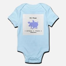 Purple Pig Totem Power Gifts Body Suit