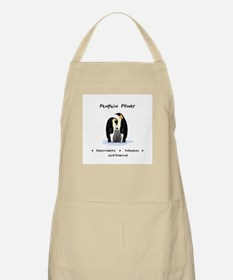 Penguin Power Animal Gifts Apron