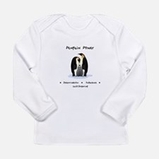 Penguin Power Animal Gifts Long Sleeve T-Shirt