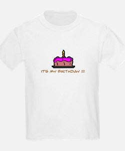 Toddler birthday t-shirt