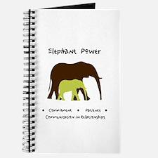 Elephant Animal Medicine Gifts Journal