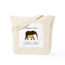 Elephant Animal Medicine Gifts Tote Bag