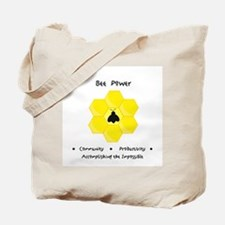 Bee Community Power Animal Gifts Tote Bag