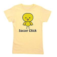 Unique Soccer girl Girl's Tee