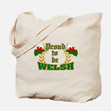 Proud to be Welsh Tote Bag