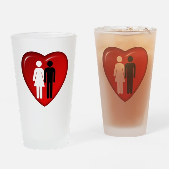 BFWM_Love.png Drinking Glass