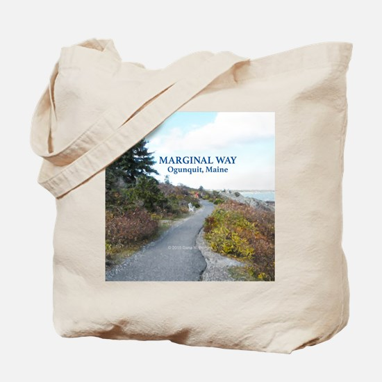 Ogunquit Marginal Way walkway Tote Bag