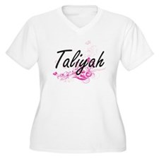 Taliyah Artistic Name Design wit Plus Size T-Shirt