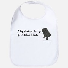 Cute Black maltese Bib