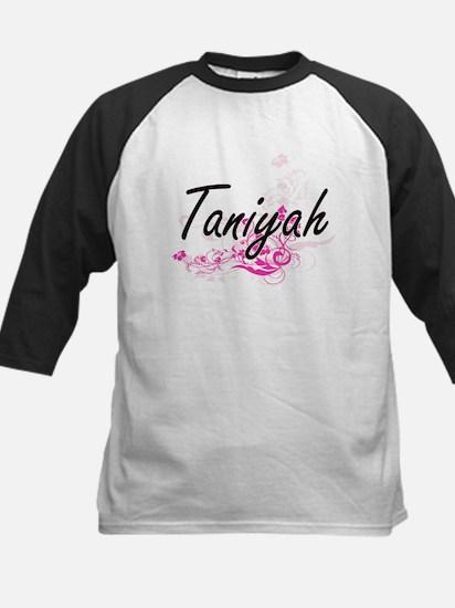Taniyah Artistic Name Design with Baseball Jersey