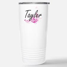 Tayler Artistic Name De Stainless Steel Travel Mug