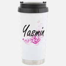 Yasmin Artistic Name De Travel Mug