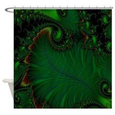 Fern Vert Shower Curtain