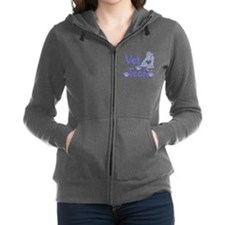 Cute Vet tech Women's Zip Hoodie