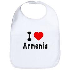 I Love Armenia Bib