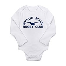 Funny Gull Long Sleeve Infant Bodysuit