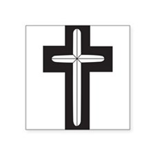 "Cute Chaplain Square Sticker 3"" x 3"""