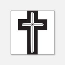 "Funny Chaplain Square Sticker 3"" x 3"""