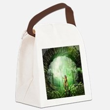The gate Canvas Lunch Bag