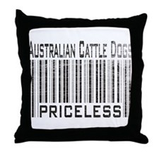 Australian Cattle Dog Owner L Throw Pillow