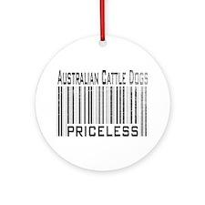 Australian Cattle Dog Owner L Ornament (Round)