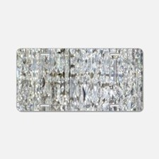 Cute Disco Aluminum License Plate