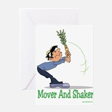 Succos Mover and Shaker Greeting Card