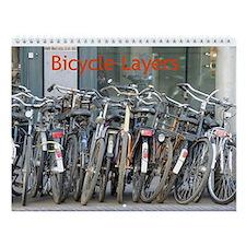 Bicycle Layers Wall Calendar