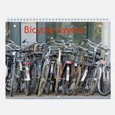 Bicycle Layers Wall Calendar