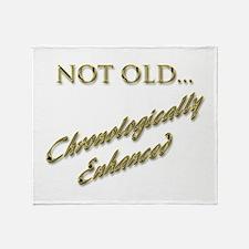 Cronologically Enhanced Throw Blanket