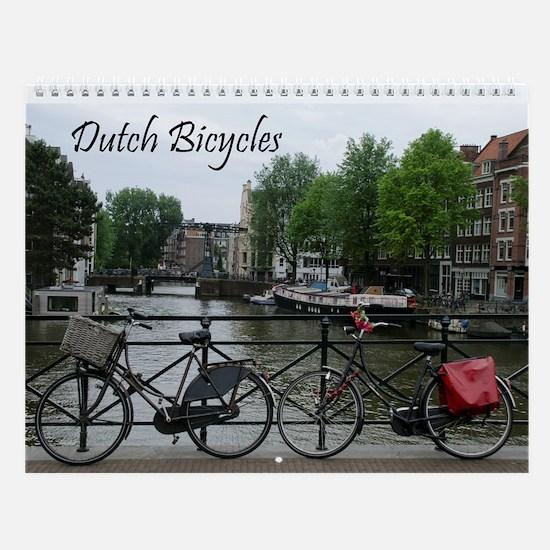 Dutch Bicycles Wall Calendar