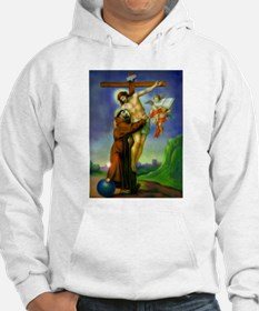 Saint Francis of Assisi Embraces Hoodie