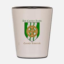 Dal Cairbre Aradh - County Limerick Shot Glass