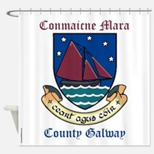 Conmaicne Mara - County Galway Shower Curtain