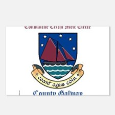 Conmaicne Crichi Meic Eircce - County Galway Postc