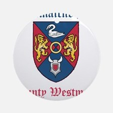 Conmaicne Bec - County Westmeath Round Ornament