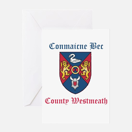 Conmaicne Bec - County Westmeath Greeting Cards