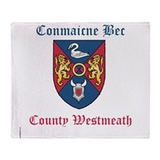 Conmaicne Bec - County Westmeath Throw Blanket
