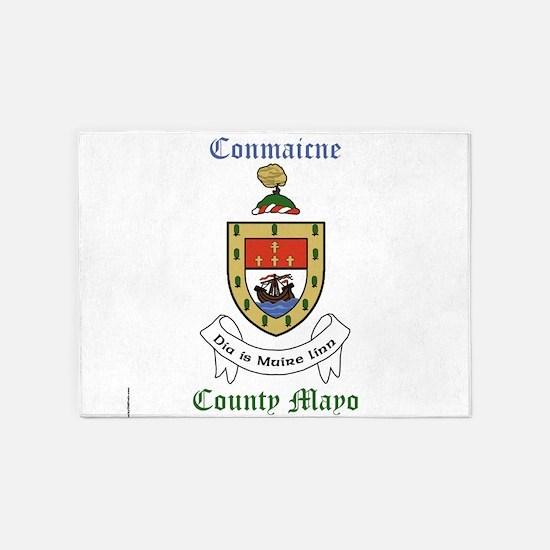 Conmaicne - County Mayo 5'x7'Area Rug
