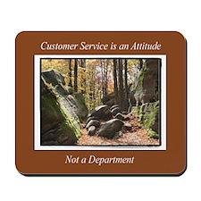 Customer Service Autumn Mousepad